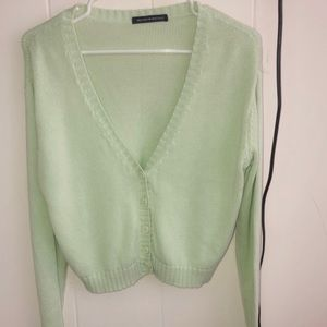 💚green Billie sweater nwot💚